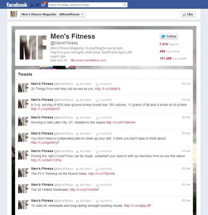 twitter displayed tweets promoting guilt free