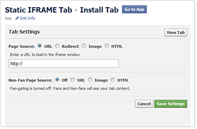 Woobox Static HTML Tab for Facebook Fan Pages